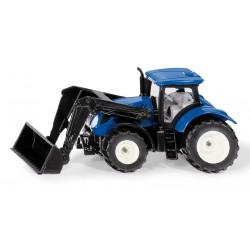 Tracteur NH avec chargeur frontal- Siku