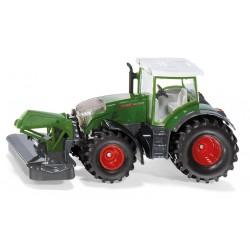 Tracteur Fendt 942 vario avec faucheuse avant - Siku