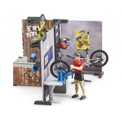Magasin de vélos avec atelier Bworld - Bruder