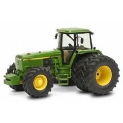Tracteur John Deere 4755 à roues jumelées - Schuco