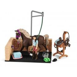 Box de lavage pour chevaux - Schleich - 42438