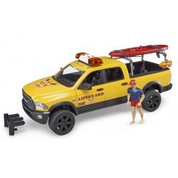 RAM 2500 Power Wagon avec sauveteur et Paddle - Bruder