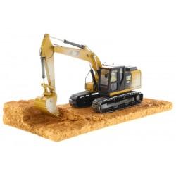 "Excavatrice Caterpillar 320F effet ""salie"" - Diecast Masters - 85701"