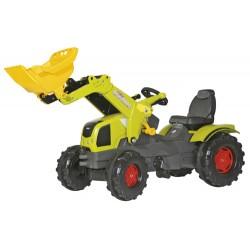 Tracteur-Claas-Axos-340-avec-pelle-avant