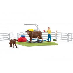 Station de lavage pour vaches - Schleich - 42529