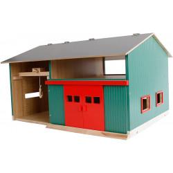 Bâtiment en bois avec atelier 1/32 - Kids Globe - 610816