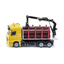Camion Mercedes transport de bois - Siku - 2714