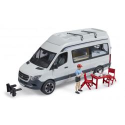 Camping Car MB Sprinter avec campeur et accessoires - Bruder