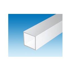 Tubes carrés creux L. 350 x Section 6,3 mm les 2
