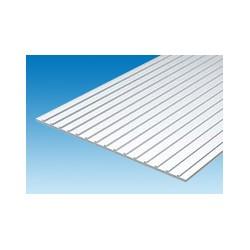 Plaque de toit 150 x 300 mm ep. 1 mm ecart. 6,4 mm