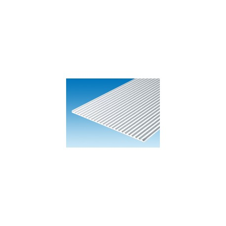 Plaque-ondulée-150-x-300-mm-ep.-1-mm-ecart.-0,75-x-0,25-mm