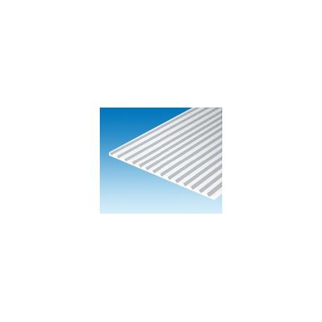 """Plaque-rainurée-en-""""V""""-150x300-mm-ep.-1-mm-ecart.-4,8-mm"""