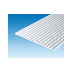 Plaque rainurée 150x300 mm ep. 1 mm ecart. 3,7 mm