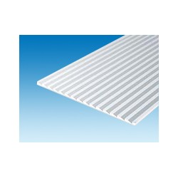 Plaque rainurée 150x300 mm ep. 1 mm ecart. 2,1 mm