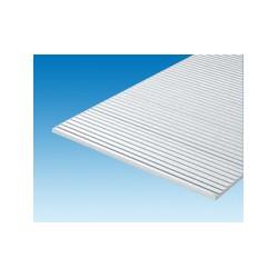 Plaque rainurée 150x300 mm ep. 1 mm ecart. 0,95 (HO) mm