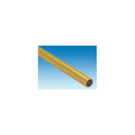 Tube-rond-en-laiton-L.-300-x-Dia.-14,28-mm