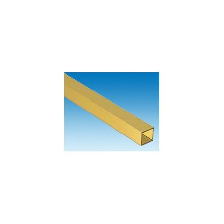 Tube-carré-en-laiton-L.-300-x-6,34-x-6,34-mm