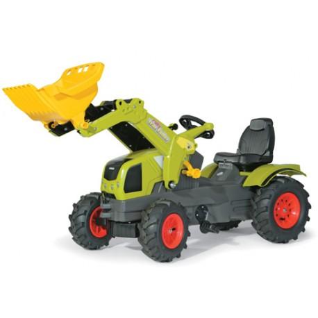 Tracteur-Claas-Axos-340-avec-pneus-souples-et-chargeur