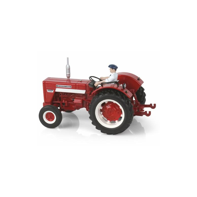 Tracteur ih 624 sans cabine avec chauffeur replicagri rep031 tracteur ancien replicagri minitoys - Tracteur ancien miniature ...
