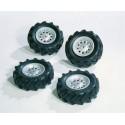 4 pneus souples 310 x 95