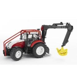 Tracteur-Steyr-CVT-6230-forestier