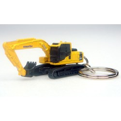 Porte-clés-Excavatrice-Komatsu-PC210