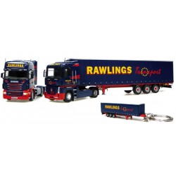 Coffret-Renault-+-Scania-avec-remorque-Rawlings-Transport