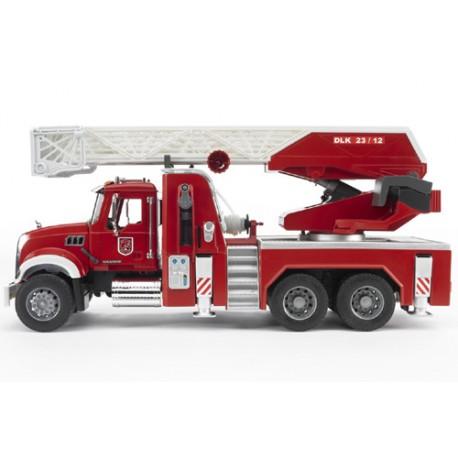 Camion-pompiers-Mack-avec-échelle