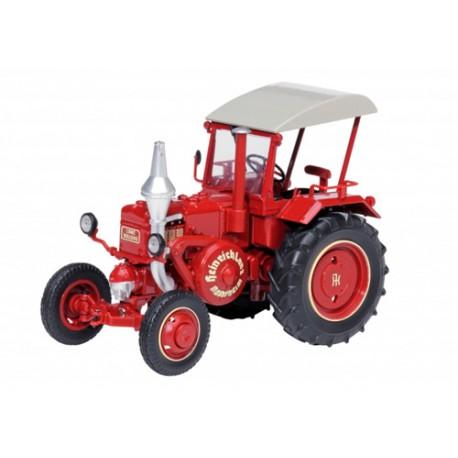 Tracteur-Lanz-Ackerluft-Bulldog-rouge