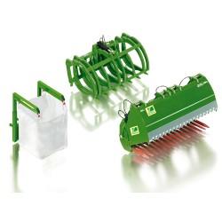 Accessoires-pour-chargeur-frontal-Wiking-en-vert-JD-(set-B)