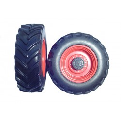 Lot de 2 paires de roues de Claas Xerion
