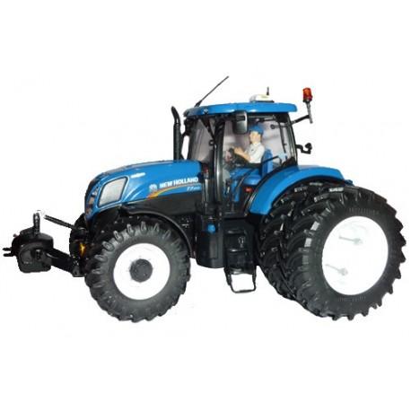 "Tracteur NH T7.210 jumelé ""20ème expo Minitoys"""