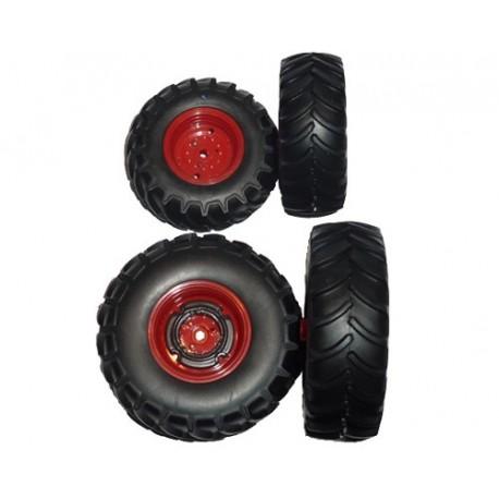Jeu de roues de Claas Axion 950