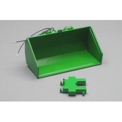 Godet hydraulique vert