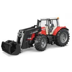 Tracteur Massey Ferguson 7624 avec fourche