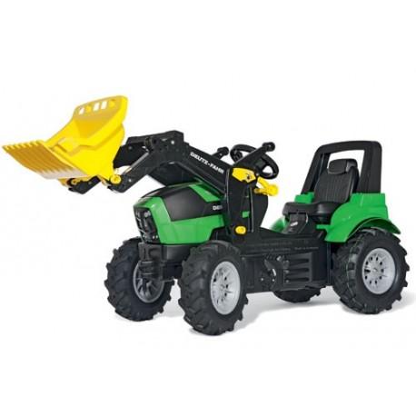 Tracteur Deutz Agrotron 7250 TTV avec pneus souples