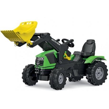Tracteur Deutz 5120 avec pelle avant