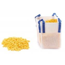 Big bag avec granulés jaunes