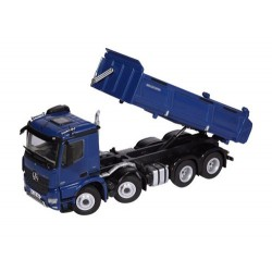 Camion benne MB Arocs 8x4 bleu