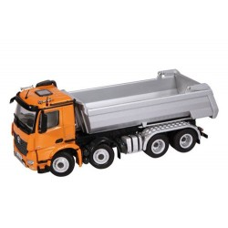 Camion benne TP MB Arocs 8x4 orange