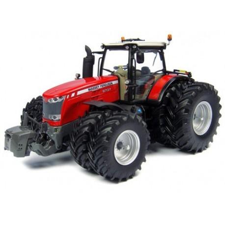 Tracteur MF 8737 8 roues