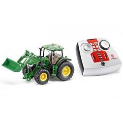 Tracteur JD avec chargeur radio-commandé