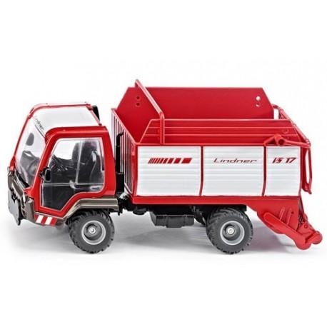 Lindner Unitrac avec wagon de chargement