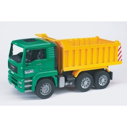 Camion-benne-jaune