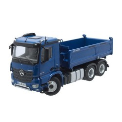 Camion benne MB Actros 6x4 bleu