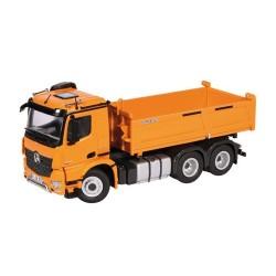 Camion benne MB Arocs 6x4 orange - NZG