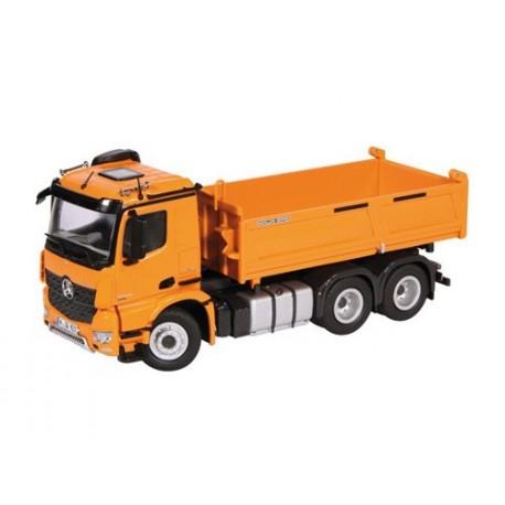 Camion benne MB Actros 6x4 orange