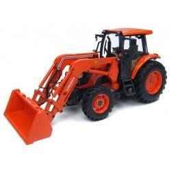 Tracteur Kubota M9960 avec chargeur
