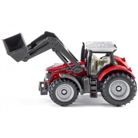 Tracteur Massey Ferguson avec chargeur