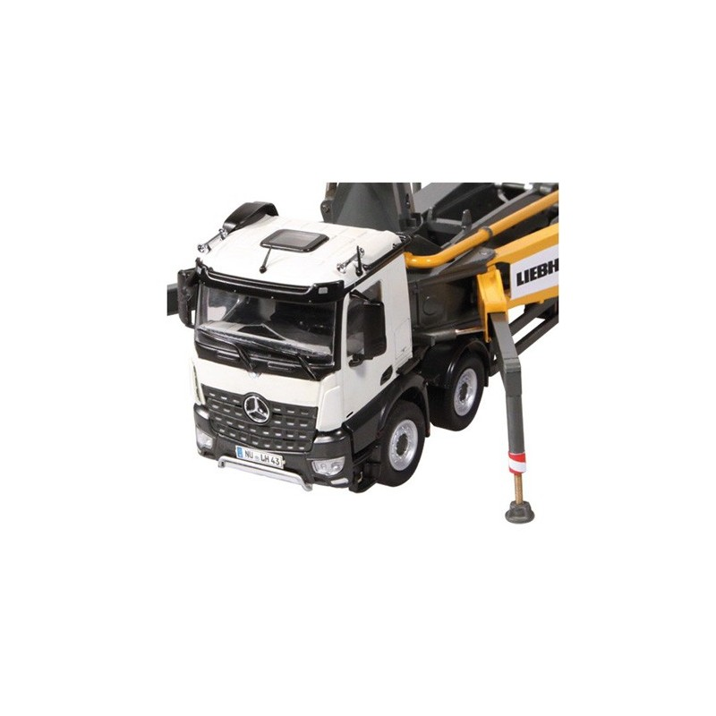 camion pompe b ton liebherr thp 140h 43 nzg931 camion travaux nzg minitoys. Black Bedroom Furniture Sets. Home Design Ideas